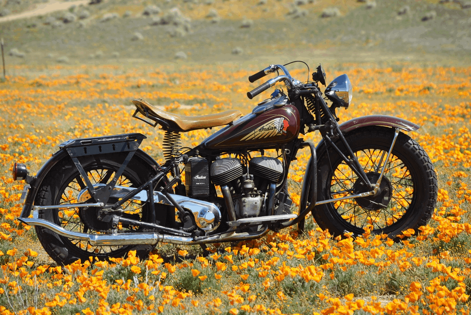 1940 Indian Sport Scout For Sale Starklite Indian Motorcycles